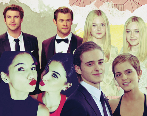 10 Celebrity Siblings Who are the Absolute Cutest