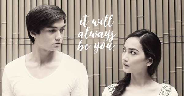 It will always be you.