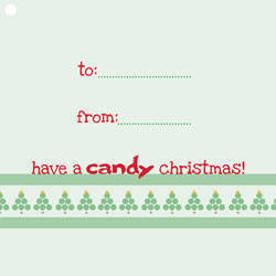 Candy Christmas Cards