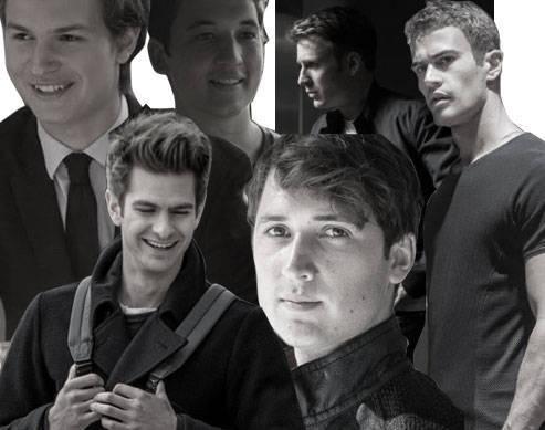 Ansel Elgort, Miles Teller, Theo James, Chris Evans, Ben Lloyd-Hughes, Andrew Garfield