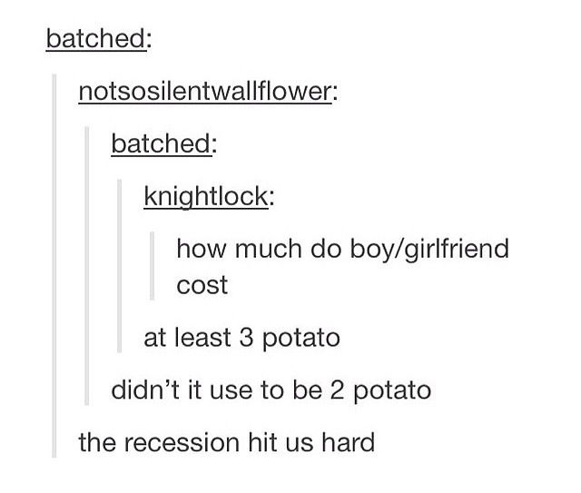 Tumblr Posts on Dating