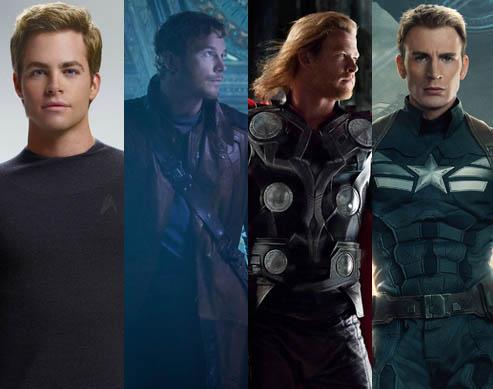 4 Handsome Actors Named Chris