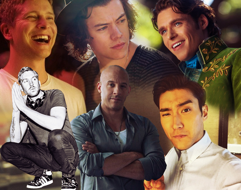 Ask Candy Crushes: Richard Madden, Calvin Harris, Siwon Super Junior, Harry Styles, Vin Diesel, Matt Cruzchy