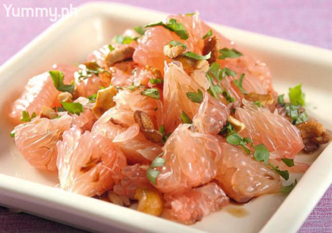 Asian Grapefruit Salad