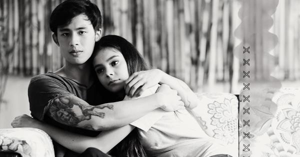 Guy hugging girl