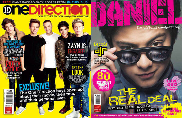 One Direction Fan Mag and Daniel Padilla Fan Con