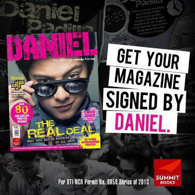 Weekend To-Do: Daniel Padilla Fan Con Promo