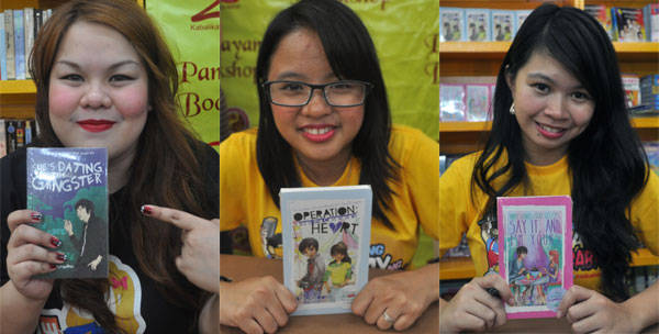 Pop Fiction authors of She's Dating The Gangster, Operation: Break The Casanova's Heart, and Three Words, Eight Letters, Say It and I'm Yours