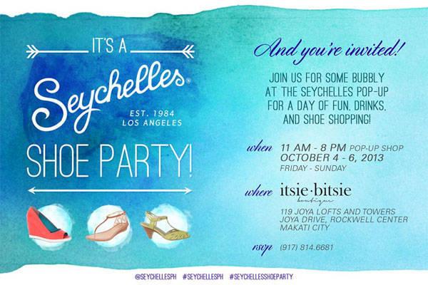 Seychelles Shoe Party