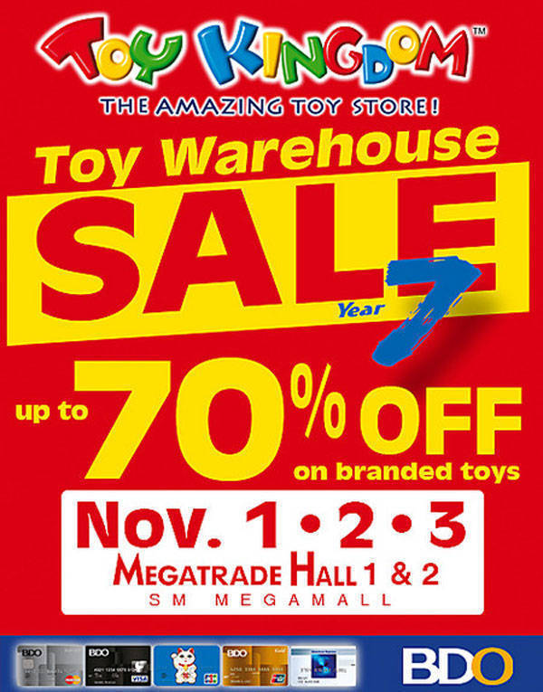 Toy Kingdom Sale