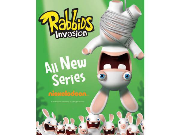 Rabbids: Invasion on Nickelodeon
