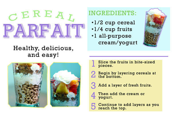 Cereal Parfait