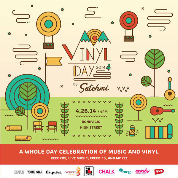 Weekend Guide: Vinyl Day 2014 by Satchmi