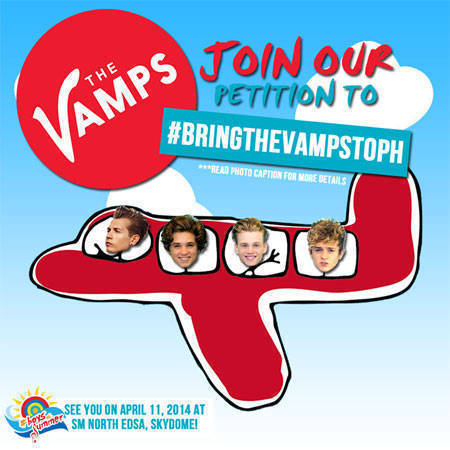 Bring Vamps To The Philippines