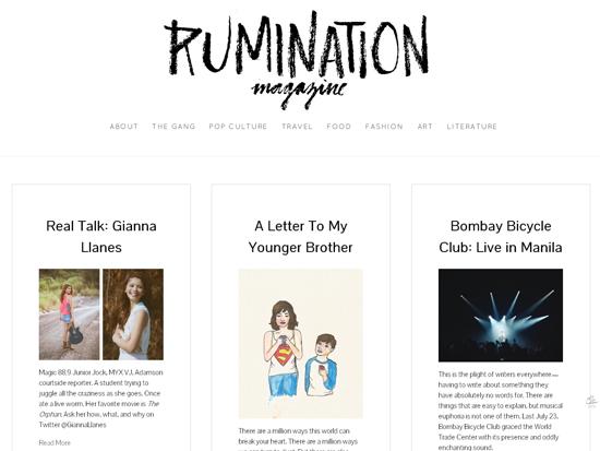 Rumination Mag