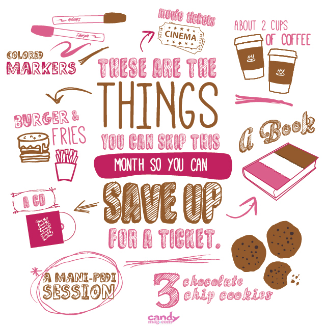 How To Save Up For Your #CandyFair2014 Ticket