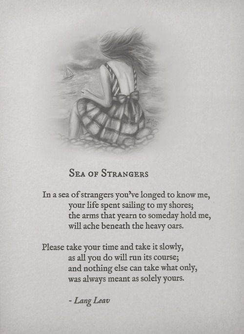 Lang Leav: The Poems She Wants You To Read & Her Firsts