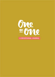 One on One A Devotional Journal