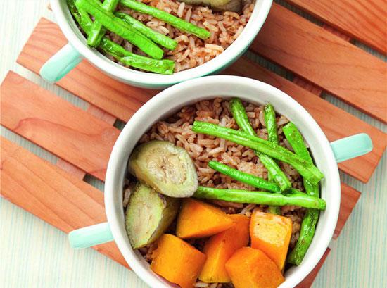 Bagoong Veggie Rice
