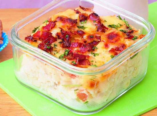 Creamy Bacon and Cheese Mac