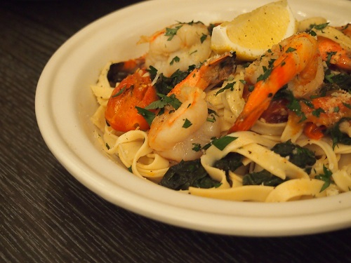 Seafood And Fresh Lemon Tagliatelle