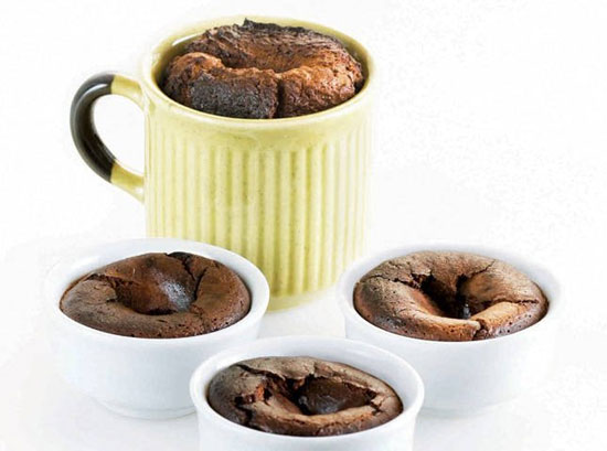 Carina's Molten Chocolate Cake