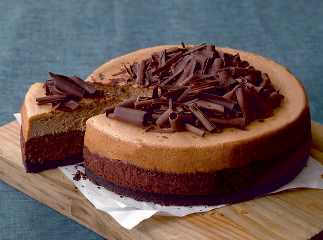 Chocolate and Coffee Cheesecake