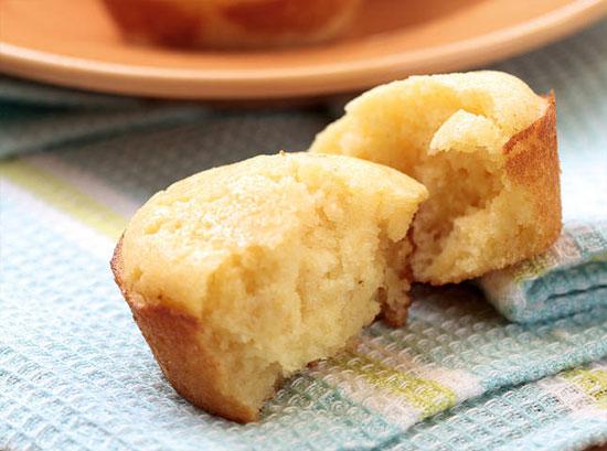 Sugared Cornbread Muffins