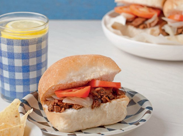 Pulled Pork Adobo Sandwiches