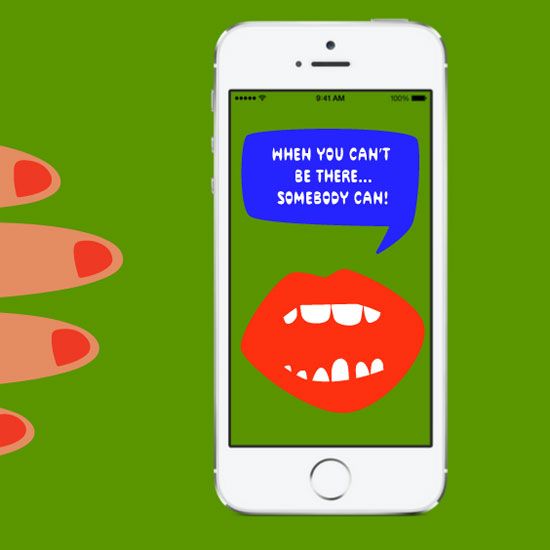 Somebody App by Miranda July