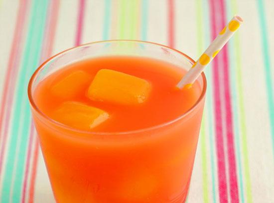 Four Seasons Punch with Mango Ice