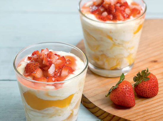 Lemon-Berry Yogurt Parfaits
