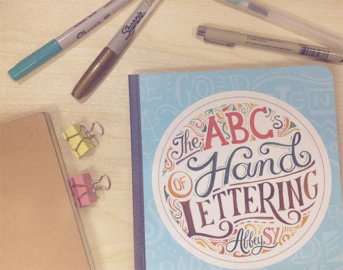 Learn The ABCs of Hand Lettering from Abbey Sy