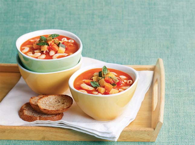 Easy Vegetable Minestrone