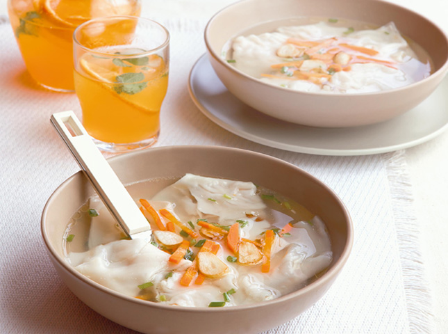 Chicken Molo Soup