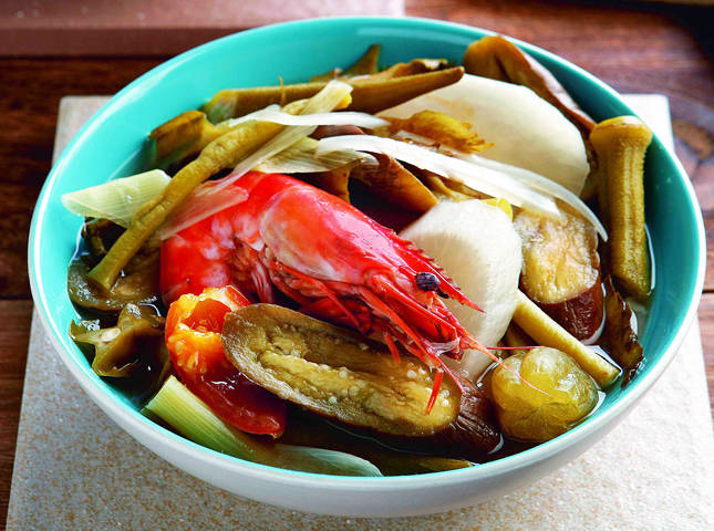 Sour Tamarind Prawn Soup