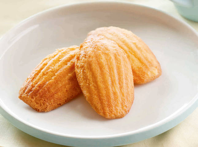 Brown Butter Madeleines