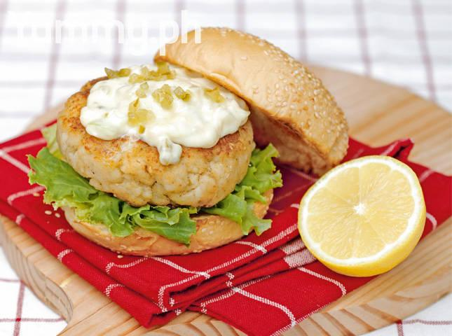 Fish Patty Burgers