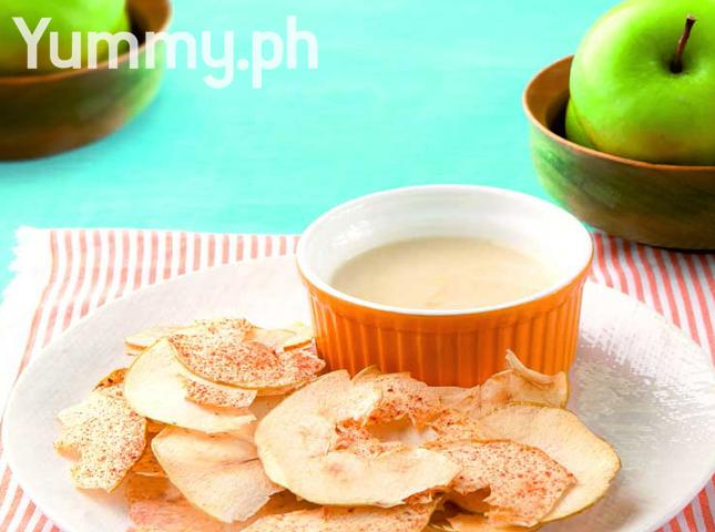 Apple Chips with Honey-Yogurt Dip?utm_source=Candy&utm_medium=Siteshare-rups&utm_content=Roundups&utm_campaign=201507-YummyNotJunk