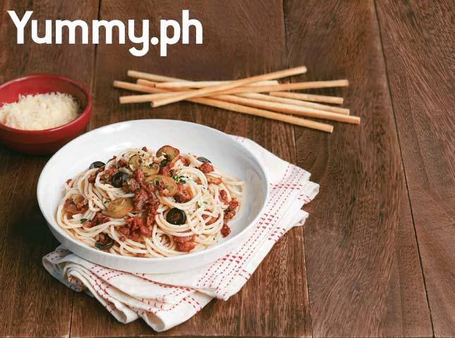 Linguine with Longganisa Sauce