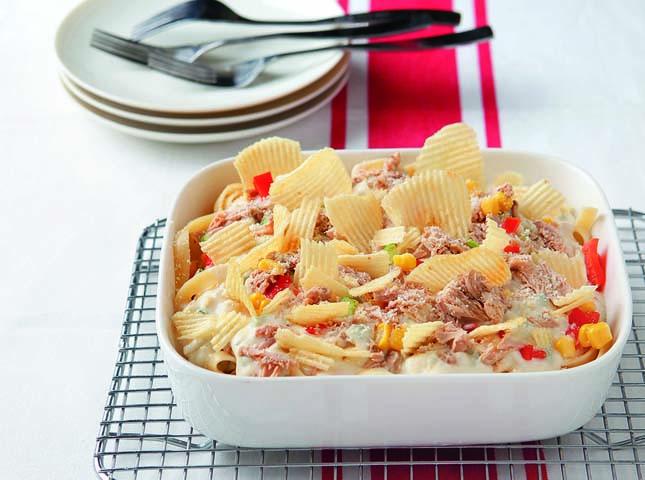 Creamy Tuna Pasta Casserole