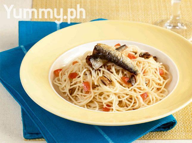 Olive Oil and Spanish Sardine Pasta