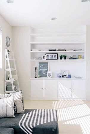 Real Living White Bedrooms
