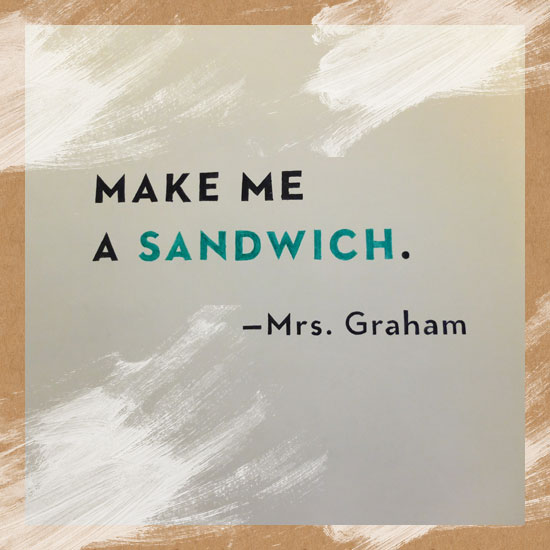 Mr. Graham's Sandwich Shop