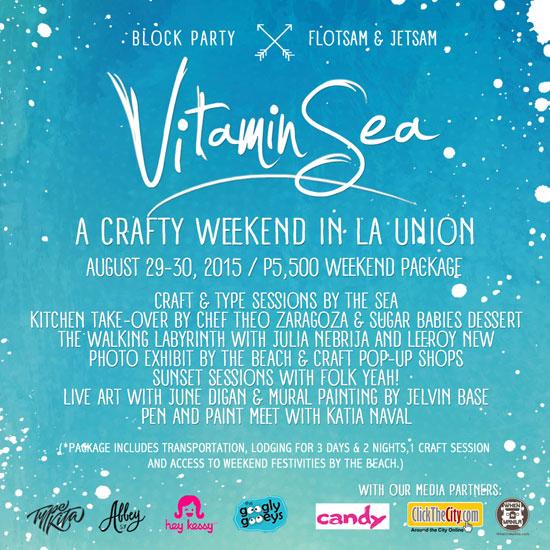 Vitamin Sea Poster