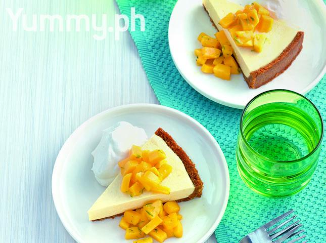 No-Bake Mango Cream Pie