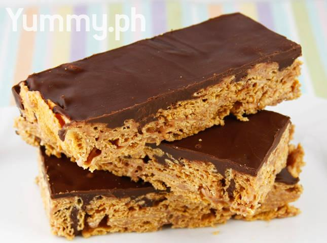 Choco Nutty Cereal Bars