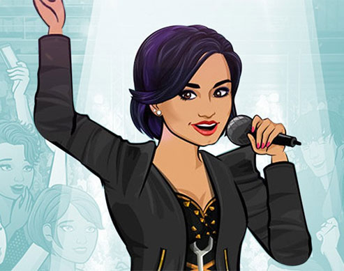 From Our Sister Sites: Choose Your Own Adventure with Demi Lovato's Mobile Game