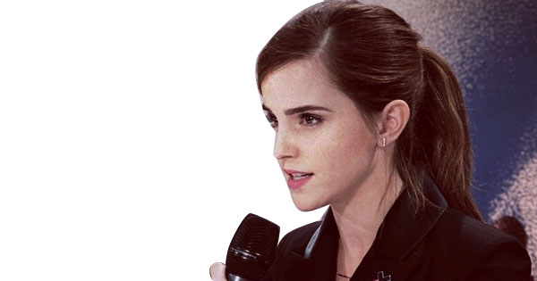 Emma Watson for He for She