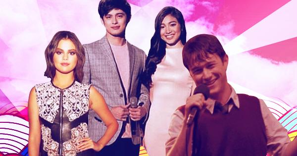 Selena Gomez, James Reid, Nadine Wolf, Joseph Gordon Levitt
